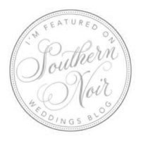 Leidy and Josh wedding photography featured on Southern Noir Wedding Blog.