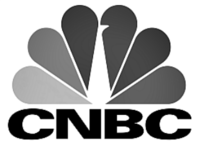 CNBC Logo Black & White
