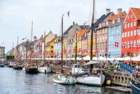 Nyhavn with boats