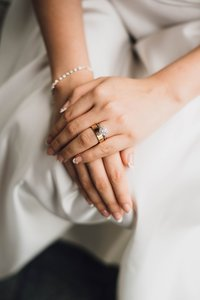 Investment - Wedding Ring on Dress
