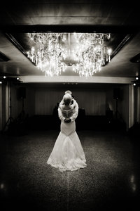 Bride and Groom first dance at Woodhaven Country Club