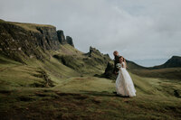 scotland elopement couple