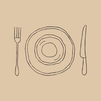 flatware graphic