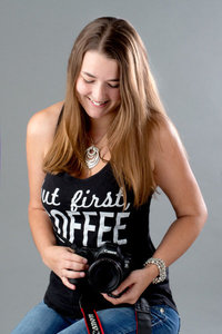 portrait of Myrtle Beach photographer, Crystal Lee