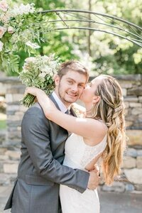 Hudson Valley Micro Wedding Couple