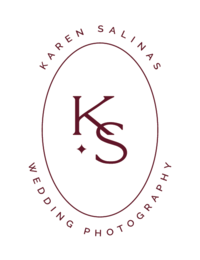 karen salinas wedding photography logo