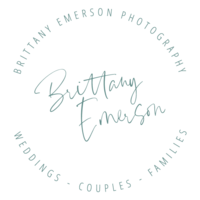 brittany emerson photography logo