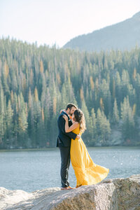 Leidy and Josh Photography | Rocky Mountains National Park Engagement-2