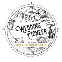 2019 Wedding Pioneer Feature Artist, Rusty Metals Photography