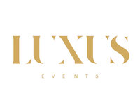 Luxus Logo White & Gold