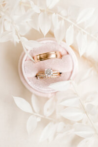 Ring Detail Photos, Styling by SIrpilla Soirees, Cleveland Wedding Planner