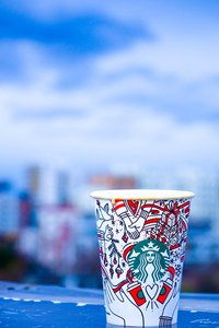 close-up-photo-of-white-and-red-starbucks-disposable-cup-791942