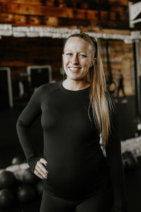 Coach Hayley at South Hill Vie Athletics Strength and Sisterhood Gym in Puyallup, South Hill, Bonney Lake, Washington