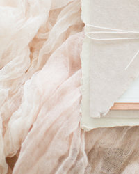 Romantic Blush Custom Wedding Invitations
