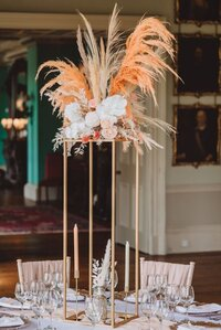 Boho luxe wedding Prestwold Hall sm (88)
