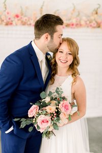 Colorful Minneapolis wedding at The Hutton House
