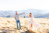 Roan Mountain couples anniversary photography