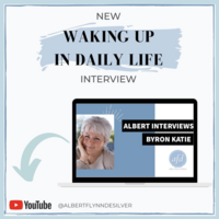 Byron Katie interview albert image