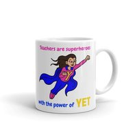 Superhero Teacher Mug