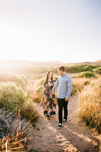 Montana de Oro engagement photo