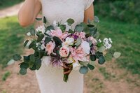 flower bouquet for wedding in Chattanooga Tennessee
