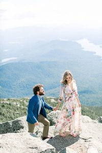 Rochester Engagement Session in the Adirondacks