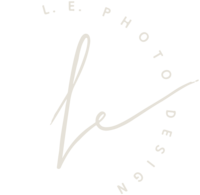 L.E. Photo | Design Logo Variation