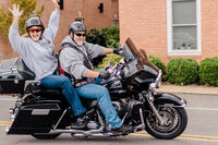 Leonardtown Courthouse Biker Wedding
