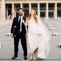 Summer Parisian Elopement