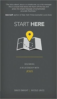 Nicole Unice - Start Here - Book Cover