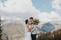 Catherine Lea Photography | Evergreen, CO Wedding Photographer  #wedding #firstlook #brideandgroom #coloradowedding #coloroadobride #denverweddingphotographer #denverwedding #evergreenphotographer #bridal #travelingweddingphotographer