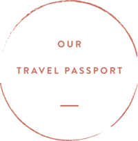 our travel passport stamp