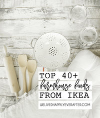 40 Best Ikea Modern Farmhouse Decor Finds- What To Buy At Ikea Video Tour - Top Ikea Products For Your Kitchen & Home Decor