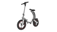 Silver Foldable Go-Bike Q1 Priced at $1300