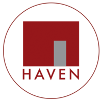 HAVEN LOGO - IN CIRCLE - FULL WHITE BACKGROUND