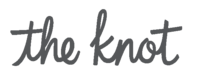 Featured by The Knot logo