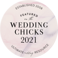 Wedding Chicks Feature Badge