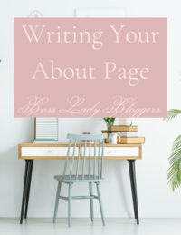 Writing Your About Page (1)