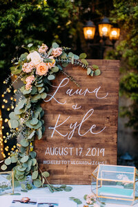 pirouettepaper.com | Wedding Stationery, Signage and Invitations | Pirouette Paper Company | Welcome + Unplugged Signs 09