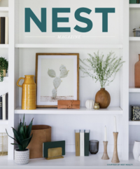 Nest Magazine Cover Page