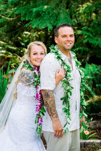 Hawaiian Wedding Photography by Mary Eklund