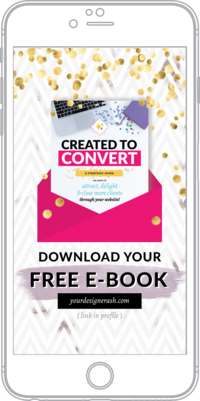 Free Ebook - How to attract, delight and close more clients through your website!