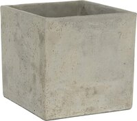 Cement Square Planter for Patio