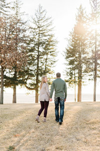 Sunny winter Engagement Session