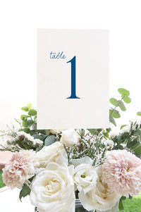 Ella Table Number