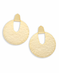 Diane Statement  Earrings Gold Kendra Scott