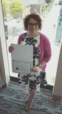 August 2020-Alessandra with her Cert of Citizenship