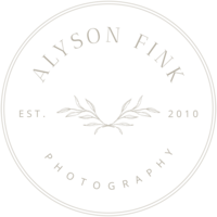 Alyson Fink Photography - Secondary Logo