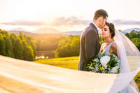 mountain ridge venue wedding in rustburg va