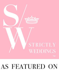 Strictly Weddings Website Badge